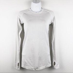 Lululemon Run Swiftly Tech Long Sleeve White